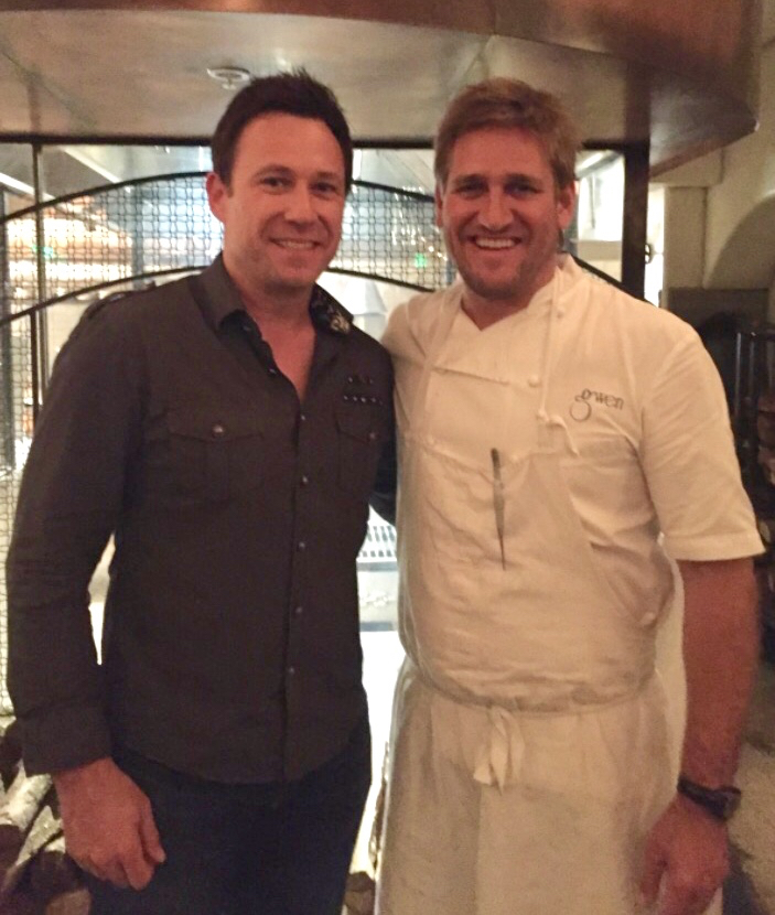 Troy with Curtis Stone in LA